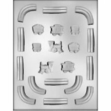 Train & Track  Chocolate Mold Candy Baking Railroad