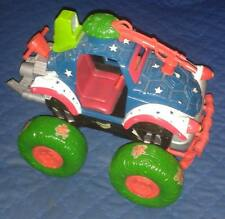 "1991 Original 10"" Shell Top 4x4 Monster Truck Teenage Mutant Ninja Turtles Tmnt"
