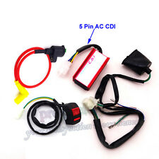 CDI Racing Ignition Coil Kill Switch Wiring Loom Harness 50-160cc Pit Dirt Bike