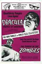 Combo Dracula Prince Of Darkness Poster 01 A3 Box Canvas Print