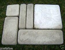 gostatue MOLD 6 piece castlestone brick mold concrete plaster mould