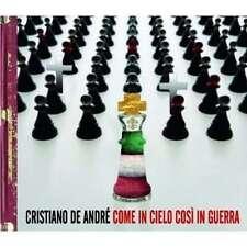 Cristiano De Andre' - Come In Cielo Cosi' In Guerra CD UNIVERSAL