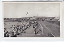 BAY SERIES POSTCARD THE CANOE LAKE AND CULVER ROAD, SANDOWN, ISLE OF WIGHT D304