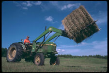 251021 Round Baler In Shawville Quebec A4 Photo Print