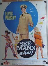 SEEMANN AHOI (Filmplakat '67) - ELVIS PRESLEY / MUSIK
