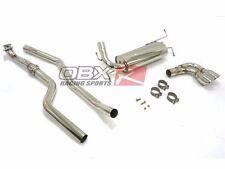 OBX Catback Exhaust FITS 07-10 Saturn SKY 2.4L L4 Single Rear Exit w/ twin tips