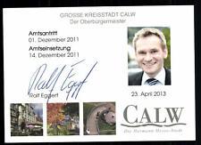 Ralf Eggert Autogrammkarte Original Signiert ## BC 39603
