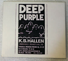 Deep Purple-Live In Denmark 72-FIRST UK EDITION(CD 2 Discs, Purple Records)