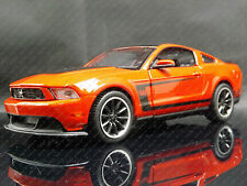 Maisto 1:24 2012 Ford Mustang Boss 302 Hotrod Clásico American Muscle Car