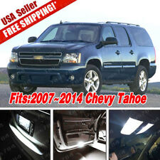 Xenon White LED Lights Interior Package Deal For Chevy Tahoe 2007-2014 (14 PCS)