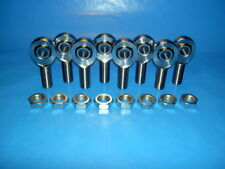 4-Link 1/2-20 x 1/2 Bore, Chromoly, Rod End / Heim Joint, With Jam Nuts