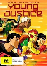 Young Justice: Season 1 - Vol 1 - Jason Spisak DVD NEW