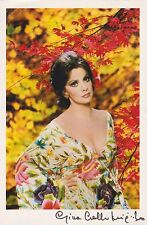 Gina Lollobrigida  Autograph, Original Hand Signed Photo