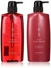 LebeL IAU cleansing relaxment Shampoo & Treatment 600ml set From JAPAN