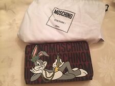 MOSCHINO Couture AW15 X Jeremy Scott Bugs Bunny Diamond Carrot Crossbody Bag NEW