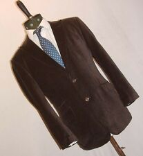 WILLIAM HUNT savile row VELVET DANDY  JACKET BLAZER