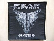 Aufnäher - Patch - Fear Factory - The Industrialist - Sepultura - Clawfinger