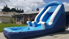 Commercial Inflatable Bounce Water slide Bouncer Jumper 25L X 14H X 11W