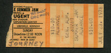 1978 Journey Ted Nugent Eddie Money Mahogany Rush concert ticket stub Louisville
