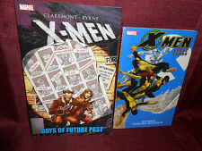 X-Men Paperback LOT First Class Vol 1 & Days of Future Past Softcover Marvel