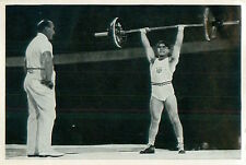 Anthony Terlazzo USA Weightlifting Haltérophilie OLYMPIC GAMES 1936 CARD