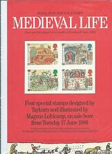 GB - ROYAL MAIL POSTERS - A4 - 1986 - MEDIEVAL LIFE