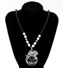 Women's Vintage Fashion Jewelry Hot Charm Elephant Crystal Pendant Necklace HOT