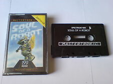 SOUL OF A ROBOT - MASTERTRONIC - ZX SPECTRUM 48K
