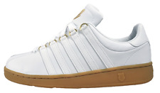 K Swiss Classic VN Vintage Mens Casual Leather Trainer White 10 free shipping