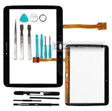 Verre numériseur écran tactile pour Samsung Galaxy Tab 3 10.1 P5200 5210 5220 Noir
