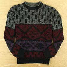 vtg 80s 90s abstract MICHAEL GERALD sweater XL extra large ugly cosby retro