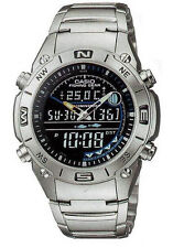 Casio AMW-703D-1A Outgear Fishing Thermometer Watch Sport Digital Stainless