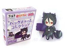 Black Butler Kuroshitsuji Ani Mimi x Hagupita Sebastian Kitty Charm Figure Strap