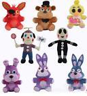 Five Nights At Freddy's 4 FNAF Freddy Fazbear Bear Foxy Plush Toys 10