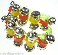 12  MUSICAL INSTRUMENTS   PERCUSSION RECORDER BELLS MARACAS TAMBOURINE