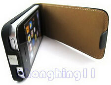 Leather Hard Skin Case Cover Protect For apple iPhone 4G 4S