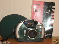 Canon IXUS x-1 data quarzo ~ Panorama sott 'acqua APS Film Camera Lens ~ 23mm (22o12)
