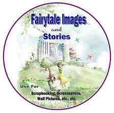 Vintage  Fairy Tale Images Collection - 5,000 on Cd