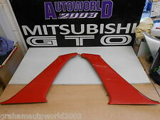 MITSUBISHI GTO 3000GT SIDE H PANEL IN RED  BOTH SIDES COLOUR CODE R38