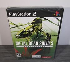 Metal Gear Solid 3: Subsistence (PlayStation 2, PS2) RARE. NEAR-MINT!