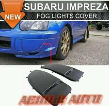 Subaru Impreza WRX STi 03-05 | OEM Fog Lamp Covers | PU Plastic | UK Stock | NEW