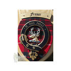SCOTTISH CLAN CREST / FAMILY WALL PLAQUE - FRASER - GREAT GIFT!