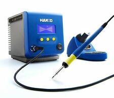 NIB HAKKO FX-100 INDUCTION HEAT SOLDERING IRON SYSTEM with 2 new tips.
