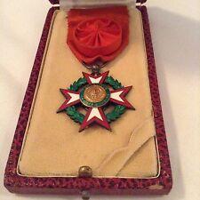 Médaille Croix Commandeur ORDRE NATIONAL COTE D'IVOIRE ELEPHANT ARGENT ORIGINAL