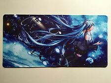 VOCALOID Hatsune miku YGO VG MTG Playmat Mouse Pad Free Shipping + Mat Bag #27