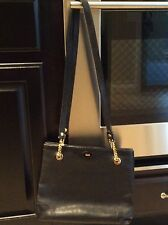 Authentic Bally Black Vintage Handbag Purse