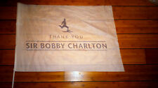 Limited Everton FC Away End Sir Bobby Charlton Manchester United Flag 3/4/2016