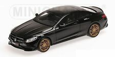 Minichamps 2015 MERCEDES BRABUS 850 S63 COUPE BLACK 1:43 LE 350pcs New Item!