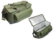 Large Carp Insulated Bait Bag Carryall  Ideal For Pike or Sea Fishing Dead Baits