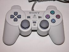 Dual Shock Controller White OFFICIAL Sony Brand for PlayStation System PS1 PS2 2